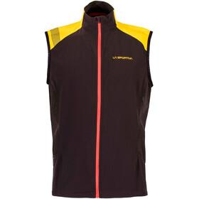 La Sportiva Mistral Running Vest Men yellow/black